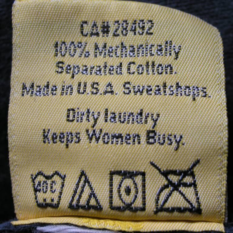 Dirty laundry keeps women busy
